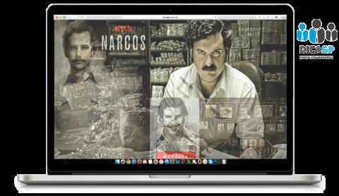 NARCOS, heróis abaixo do equador.