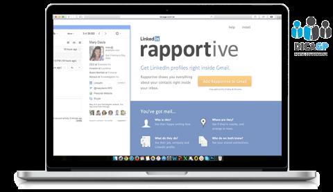 Para o empreendedor que quer conhecer seus contatos: Rapportive