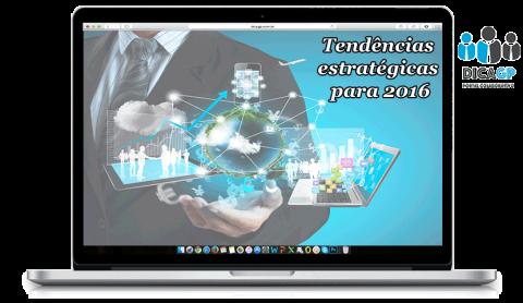 Indicação do Gartner sobre as 10 tendências estratégicas para 2016