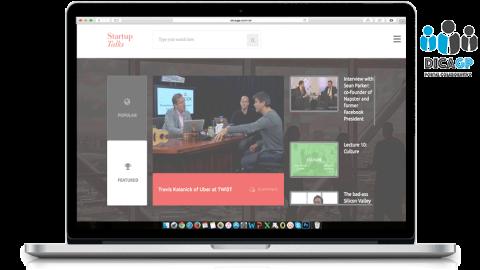Para o empreendedor que prefere se inspirar por vídeos: StartupTalks